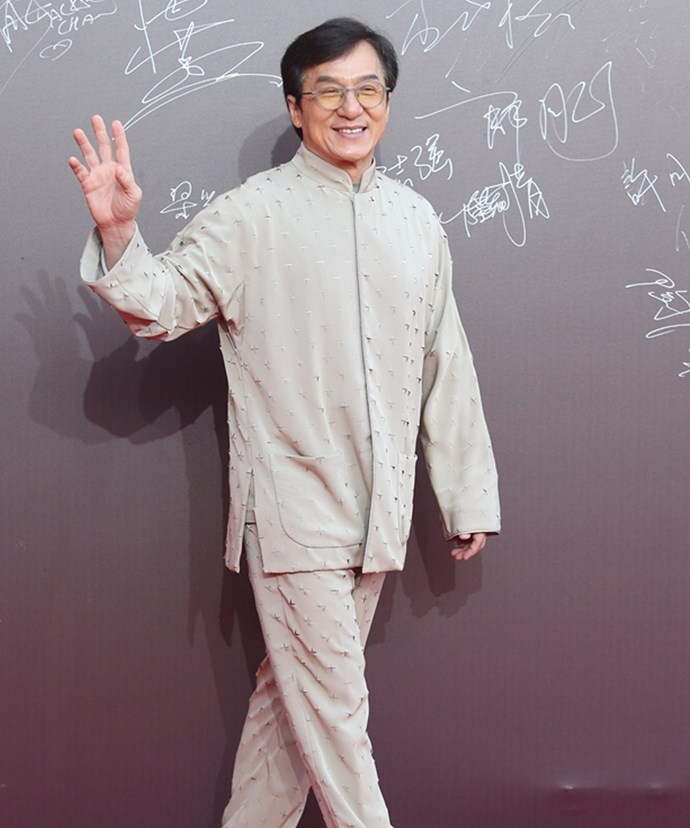 Jackie Chan came outta nowhere!