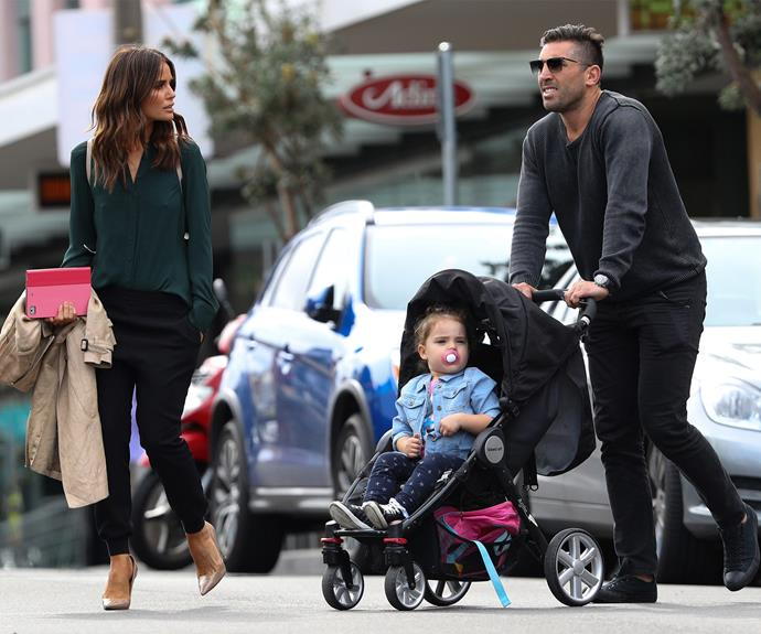 Estranged couple Jodi and Braith Anasta stepped out with their two-year-old daughter Aleeia last week.