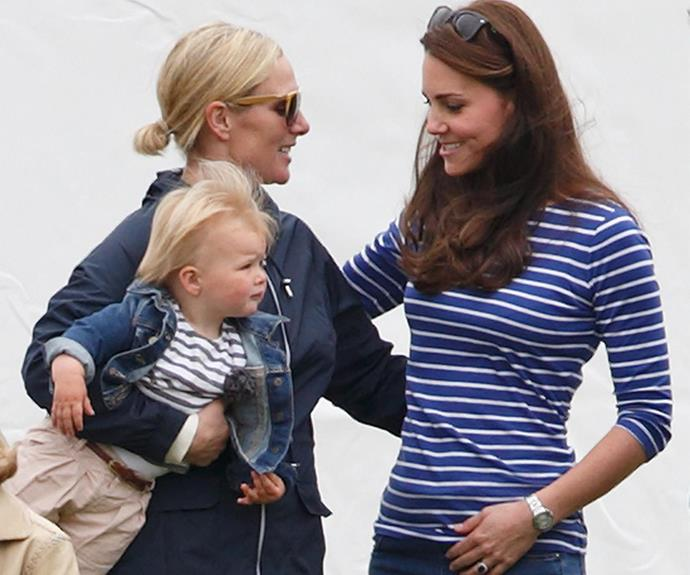 Perhaps Mia will share her new toy with cousins Prince George and Princess Charlotte!