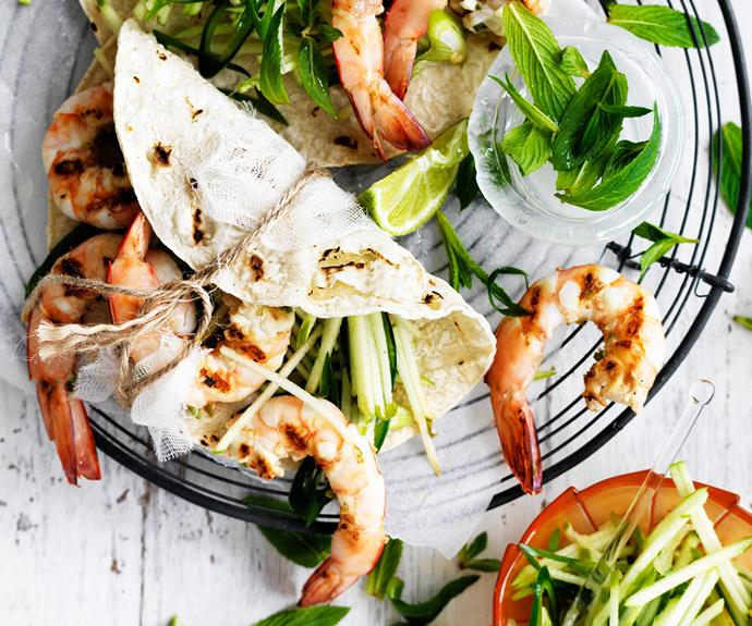 "Try these delicious [chilli prawns with green apple salsa](http://www.foodtolove.com.au/recipes/chilli-prawns-with-green-apple-salsa-27004|target=""_blank"") from our friends at Food To Love!"