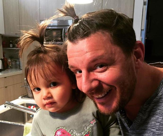 *MKR* favourite Manu Feildel is the proud dad to daughter Charlee, pictured, and son Jonti.