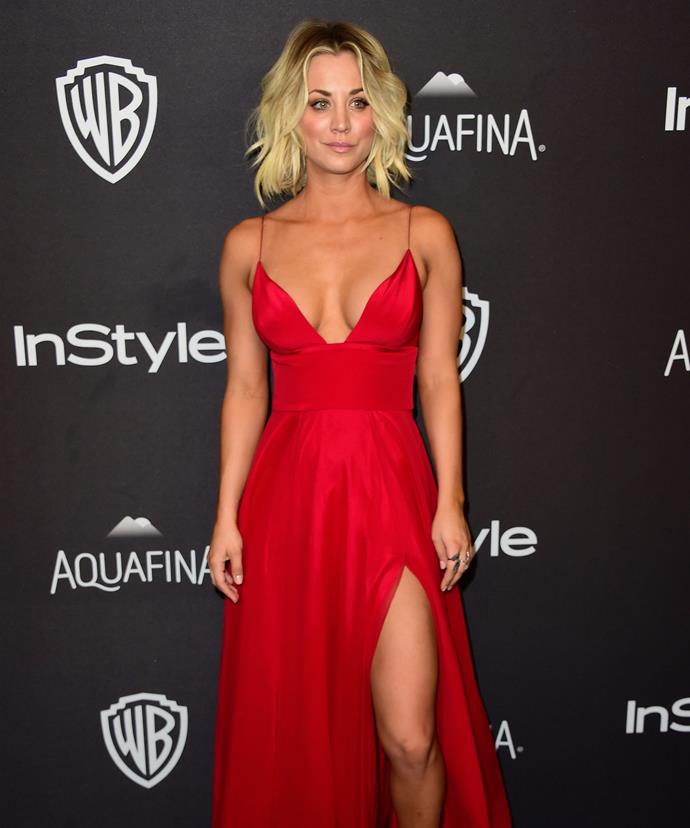 Kaley Cuoco Exposes Breast In Revealing Snapchat Photo -2738
