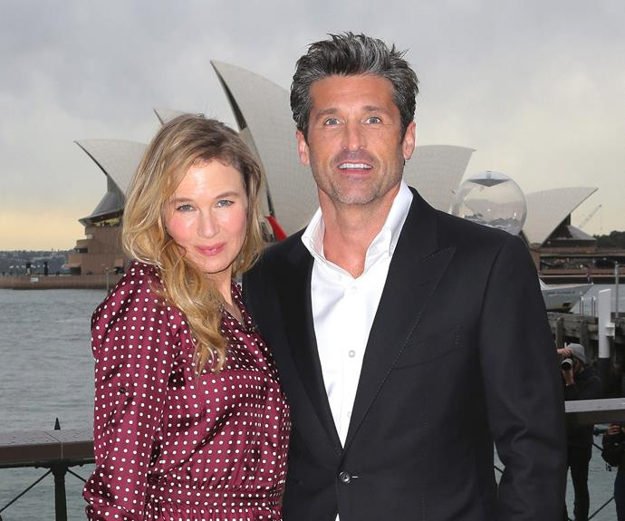 The actress has been living it up in Sydney on her promotional tour with co-star Patrick Dempsey.