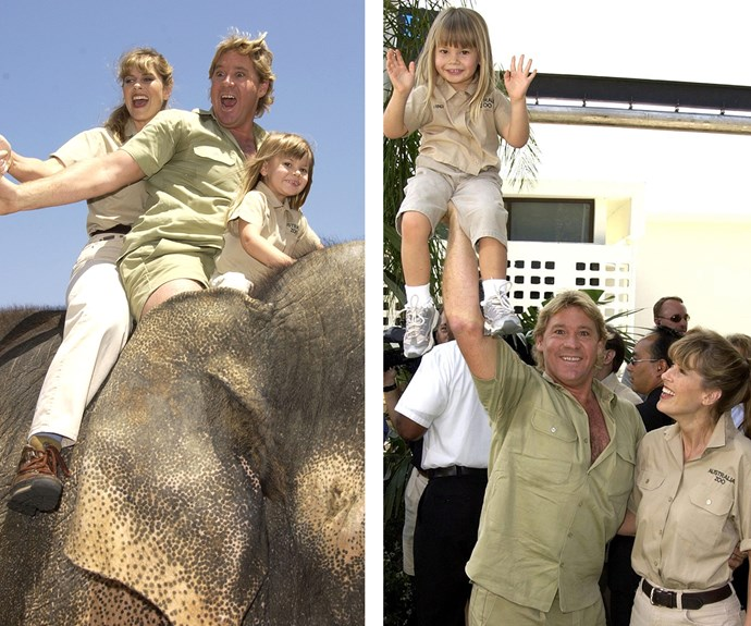 In 1998, Terri and Steve welcomed their first daughter Bindi Sue Irwin.
