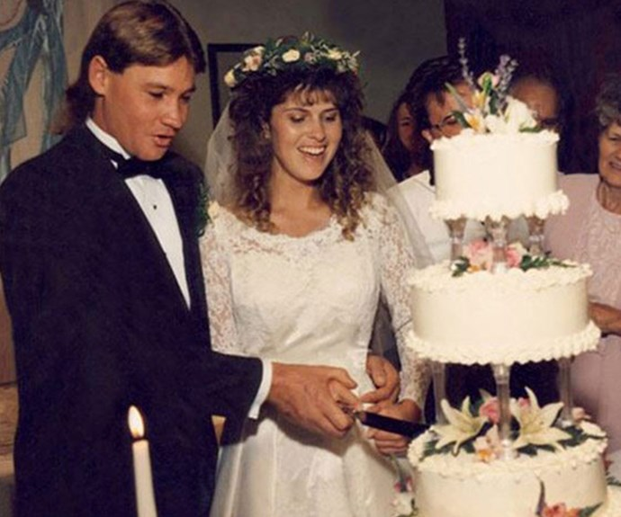 Terri and Steve tied the knot on June 4, 1992.
