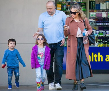 Jessica Marais and Chrys Xipolitas go toy shopping with their kids