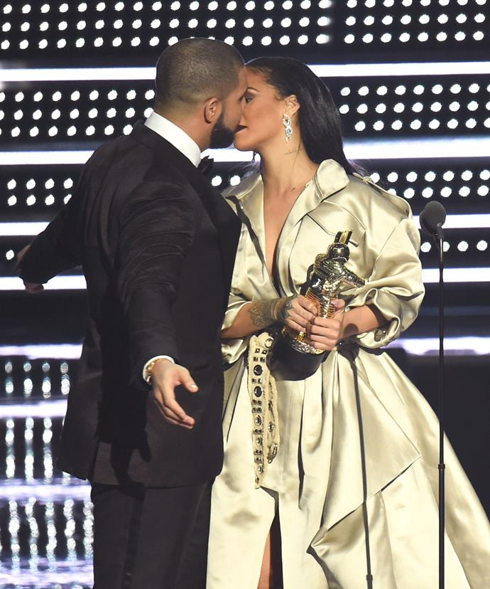 The pair packed on the PDA at the VMAs.