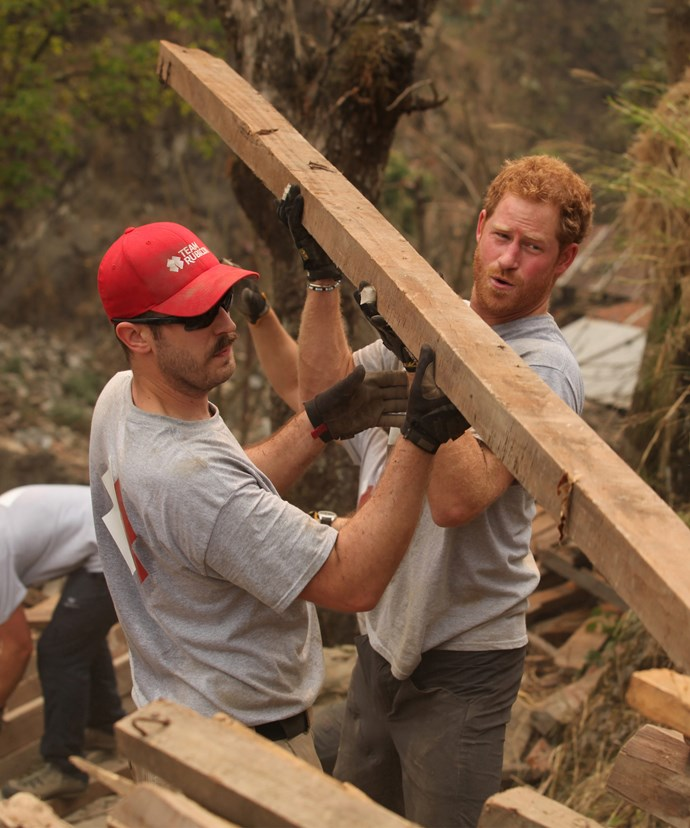 With such a huge place, Prince Harry can put his building skills to use!