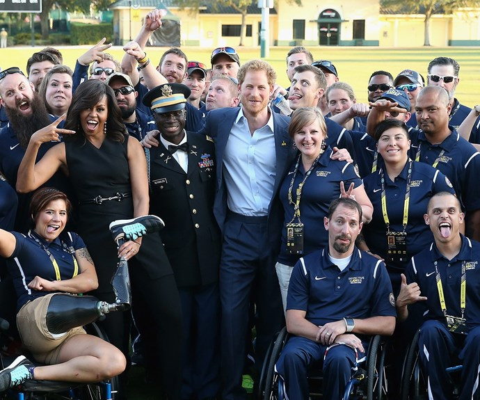 Prince Harry and Michelle Obama are proud Invictus supporters.