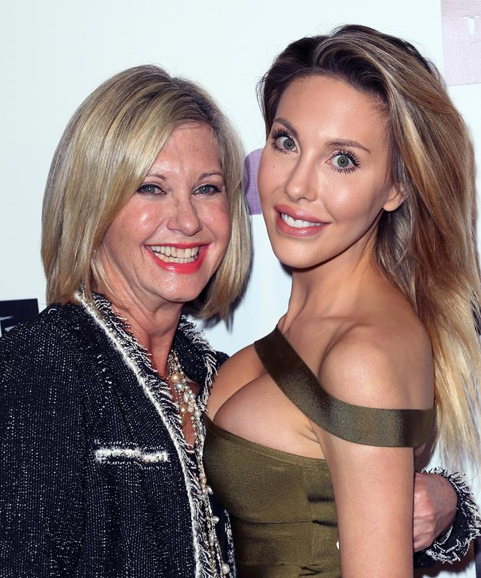"""I've always said that I wanted to grow old gracefully and not cut and slash,"" the star, pictured with daughter Chloe Lattanzi, told *Stellar* magazine."