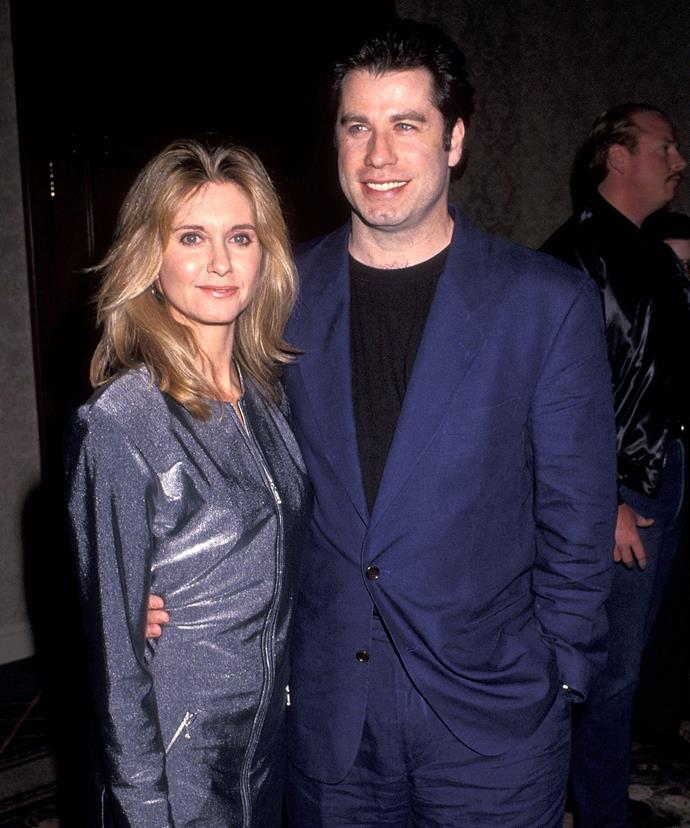 The Aussie superstar, pictured with her *Grease* co-star John Travolta in 1992, says her husband bring her herbs to help maintain her youthful glow.