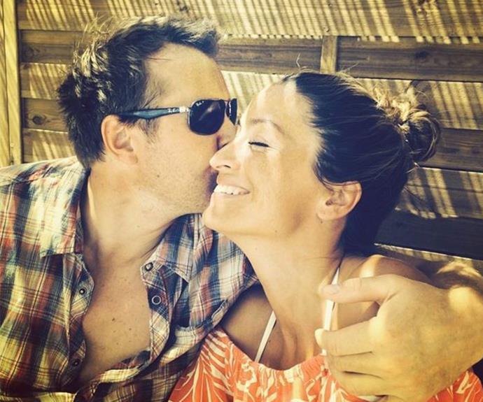 Rebecca found her happy ending after marrying medical adviser Sven. (pic/rebeccaelizabethloos)