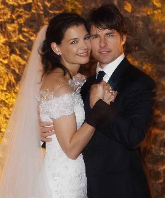 The pair started dating in 2005 and tied the knot in an extravagant and star-studded Italian wedding a year later.