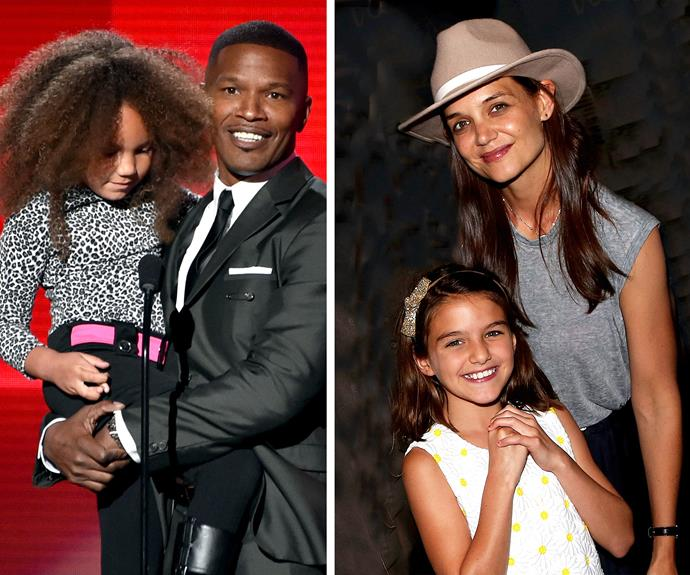 Both Jamie and Katie are single parents to their girls, Annalise Bishop and Suri Cruise, respectively.