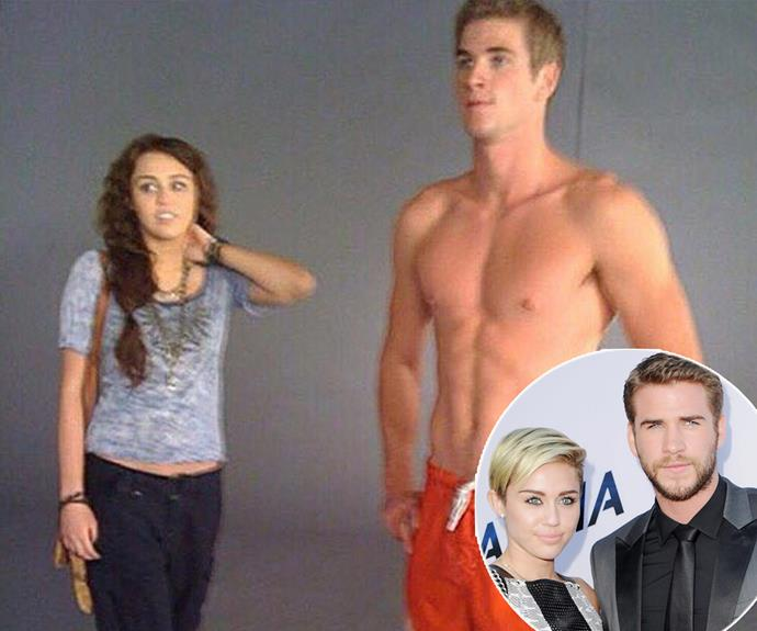 "Liam Hemsworth has posted a sweet behind-the-scenes snap from *The Last Song*, which incidentally was the film where he and [now ex-partner Miley Cyrus](https://www.nowtolove.com.au/celebrity/celeb-news/miley-cyrus-liam-hemsworth-court-case-61779|target=""_blank"") met. ""Throwing it WAY back... what a 'blur.' #TBT"" he penned. <br><br> How time has flown! #RIPMileyAndLiam."
