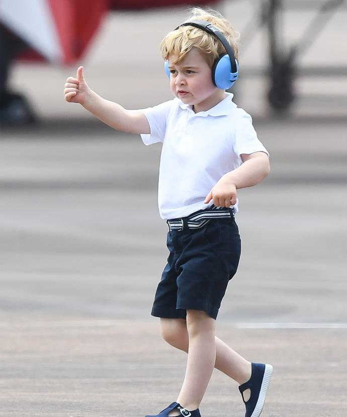 All systems go for the royal cuties to join Mummy and Daddy in Canada.