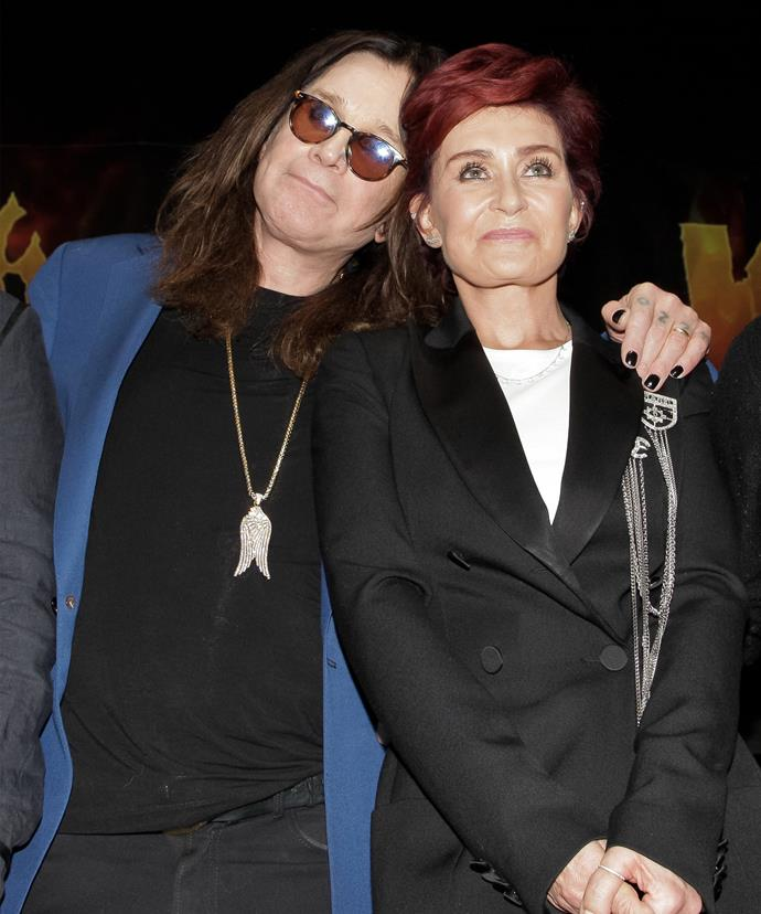 Ozzy was reportedly the one who checked her into hospital.