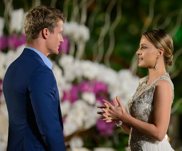 The beautiful make-up artist reveals she already had her goodbye speech to Richie prepared!