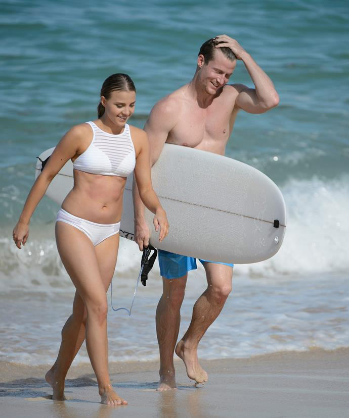 Olena and Richie's hit the surf in Bali for their last ever date.