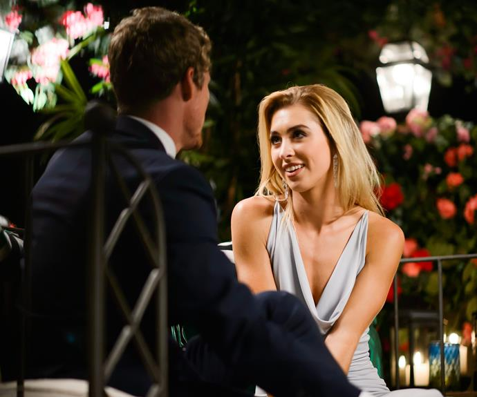Alex won an instant advantage with The Bachelor after he gifted her with the powerful white rose.