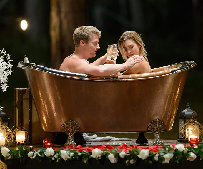 "The infamous chocolate bath date was one of the most talked about moments of the whole season. **Relive more outrageous Bachelor [memories here](http://www.womansday.com.au/entertainment/tv-soaps-books/the-bachelor-2016s-most-memorable-moments-16534|target=""_blank"")**"