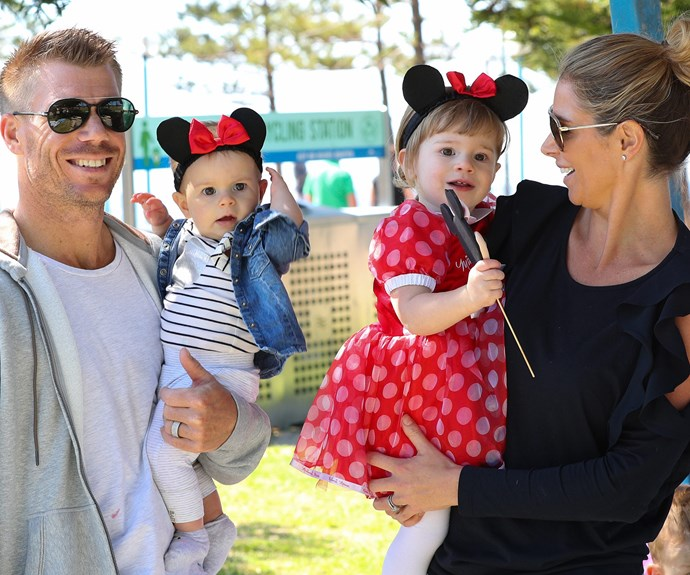 Ivy Mae celebrated her second birthday with mum Candice, dad David and little sister Indi Rae.