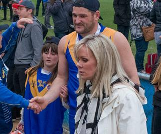 Brendan Fevola and Fifi Box