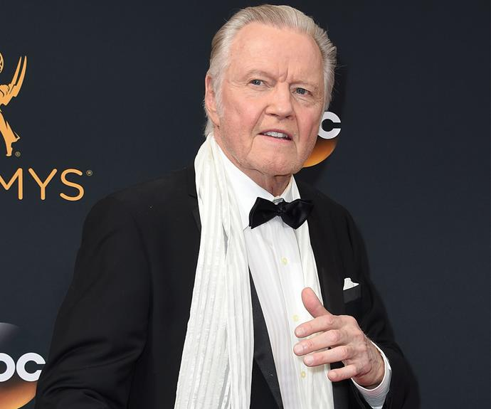 Jon Voight was ready to let the good times roll.