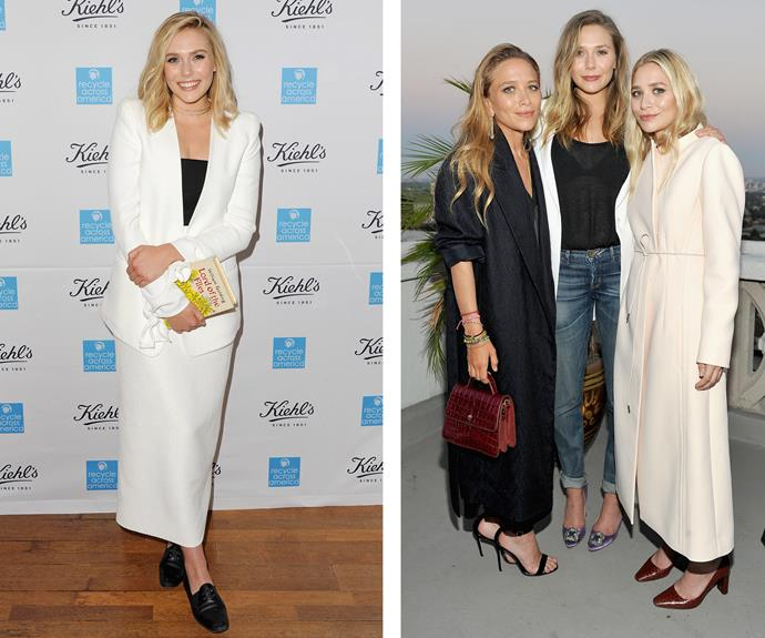"""When I'm wearing heels at events, my feet feel like they're sitting in pools of blood,"" confessed Elizabeth Olsen."