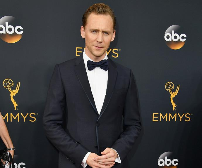 "What broken heart? Tom Hiddleston, who is nominated for the lead actor gong for his role as Jonathan Pine in *The Night Manager*, looked to be in good spirits [despite his recent split from Taylor Swift.](http://www.womansday.com.au/celebrity/hollywood-stars/its-over-taylor-swift-tom-hiddleston-reportedly-split-16450|target=""_blank"")"