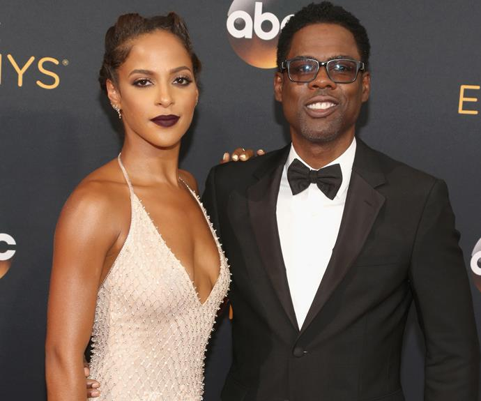 Chris Rock and Malaak Compton Rock put on a loved up display.