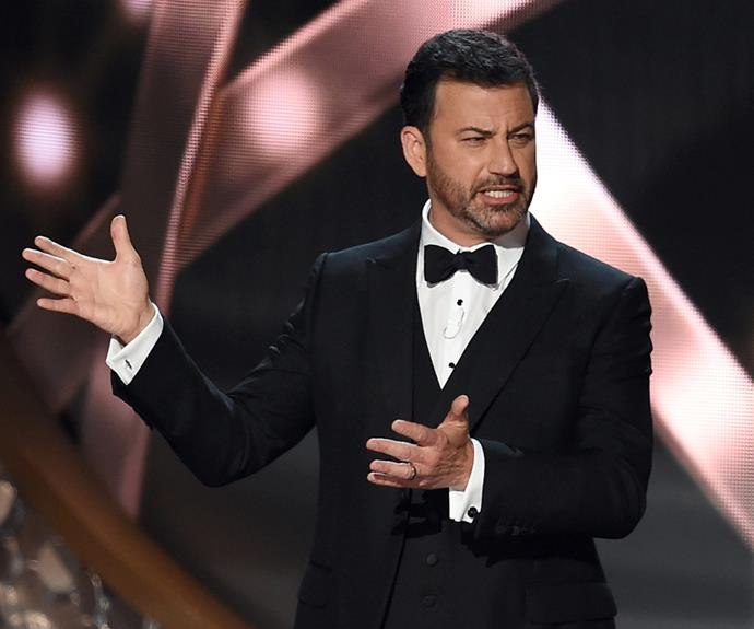Jimmy Kimmel scored the coveting hosting gig!