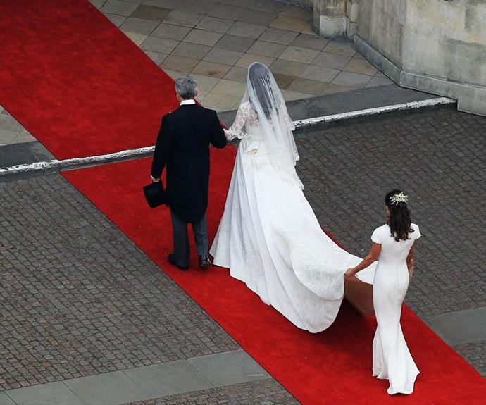 """Pippa's enviable silhouette caused quite a stir at Wills and Kate's royal wedding. """"I was surprised and still don't understand it,"""" she says of the world's reaction."""
