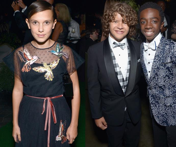The gang from *Stranger Things* slayed!