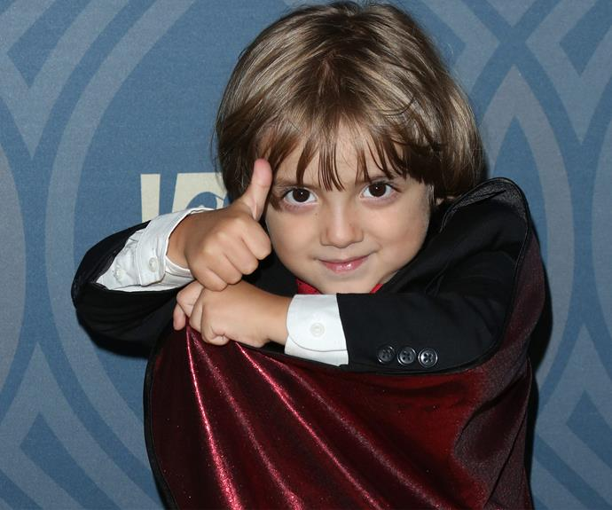 Including the cast's youngest star, five-year-old Jeremy Maguire, who plays Joe. The little cutie challenged *DWTS* pro Julianne Hough to a dance-off! Prepare for major heart-melting and check it out in the next slide.