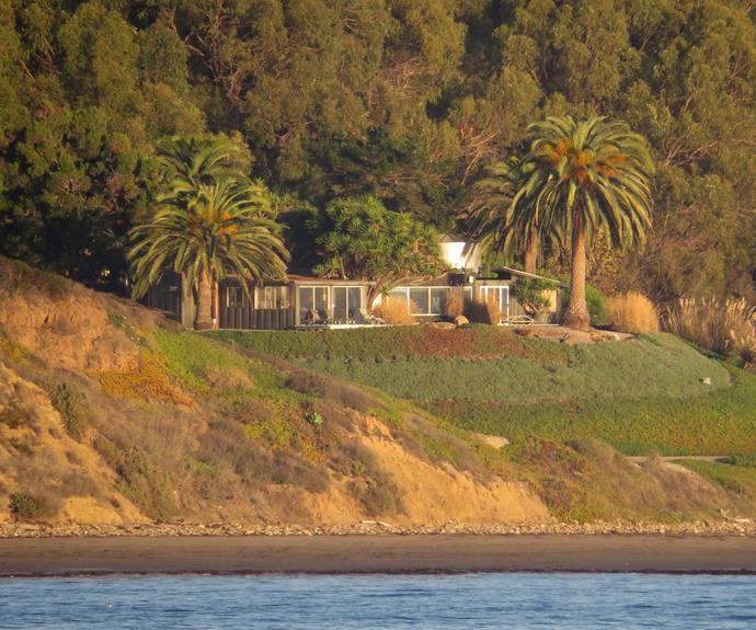 Brad's Santa Barbara home