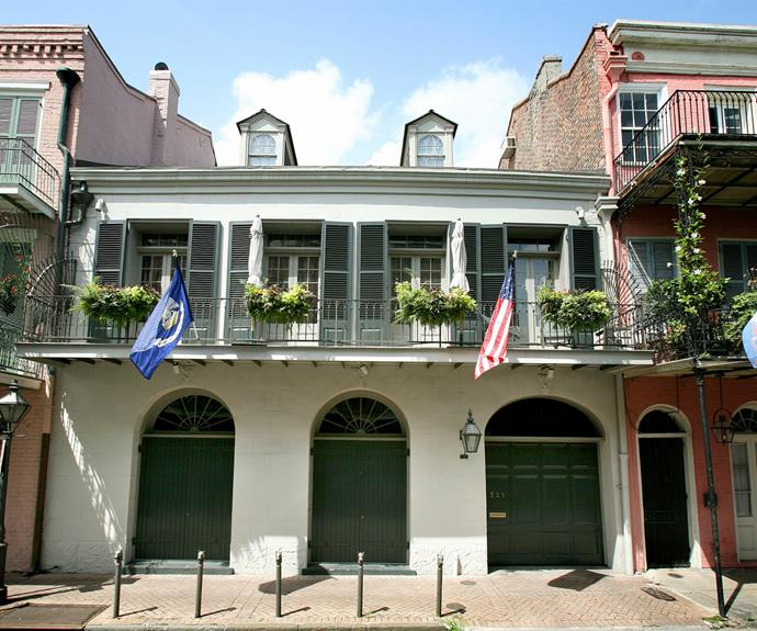 The family's New Orleans' home... Check out where it all began for Brangelina: *Mr and Mrs Smith*