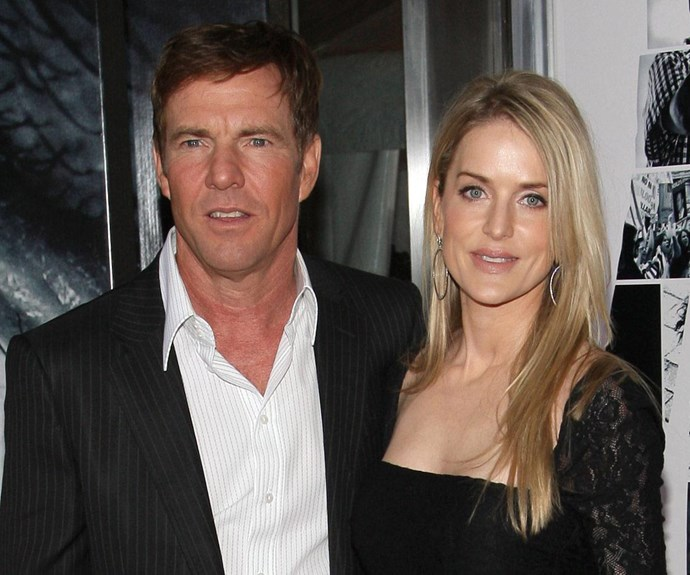 """In June, Dennis Quaid and his wife Kimberly Buffington-Quaid called it quits… for the second time. A joint statement read: """"After careful consideration, we have decided to end our 12-year marriage. The decision was made amicably and with mutual respect toward one another."""""""