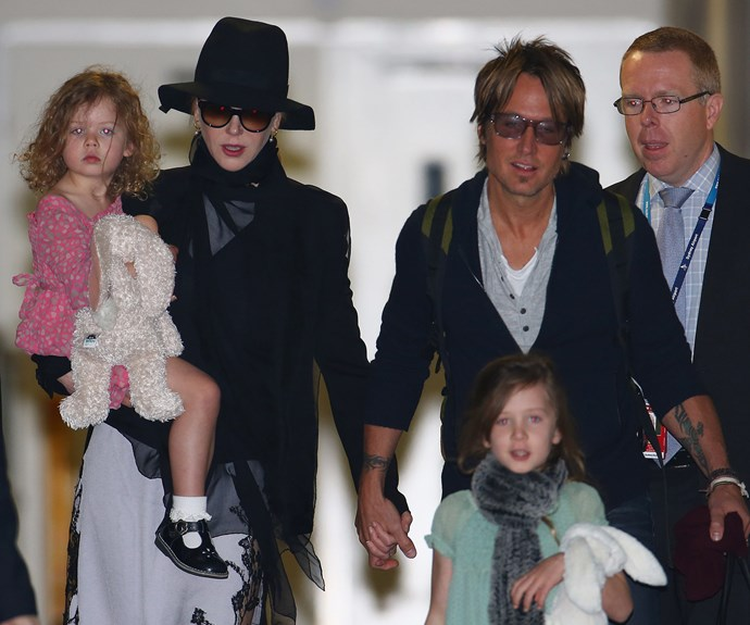 Nicole with her family, Keith and daughters Faith and Sunday.