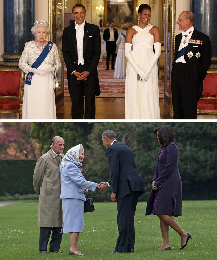 The Obamas are fab friends with the Queen and Prince Philip... Check out Obama talk about Her Majesty in the video below!