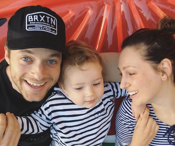 """""""Going from two to three is special and you feel like a little team!"""" Says Zoe of life as a mother."""