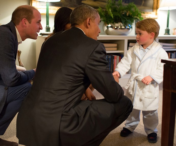 Even Obama joins in on the parenting technique!