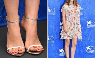 15 celebrity pedicures we're obsessed with