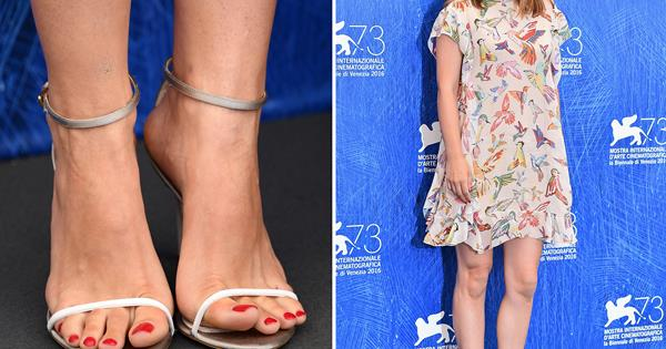Stylish Celebrity Pedicures Woman S Day