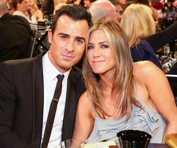 Jen and Brad tied the knot last year... Check out his thoughts on her ex's divorce in the video below!