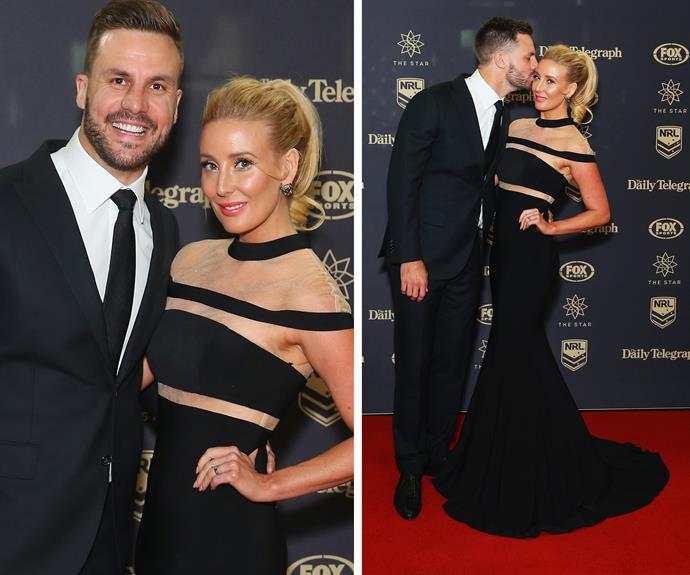 "Clearly impressed by his Mrs, the dad-of-one took to Instagram to sing her praises. ""Easily best dressed in my opinion. She gets my 3 votes for #DallyM,"" he gushed to his 333,000 followers. **WATCH: Beau Ryan accidentally hits Liam Hemsworth in the face. Gallery continues...**"