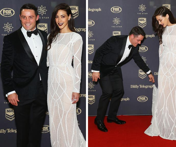 Cooper Cronk was the man of the hour taking out the night's coveted Dally M medal...