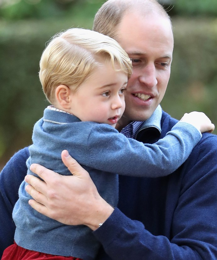 Prince William and George share a special bond.