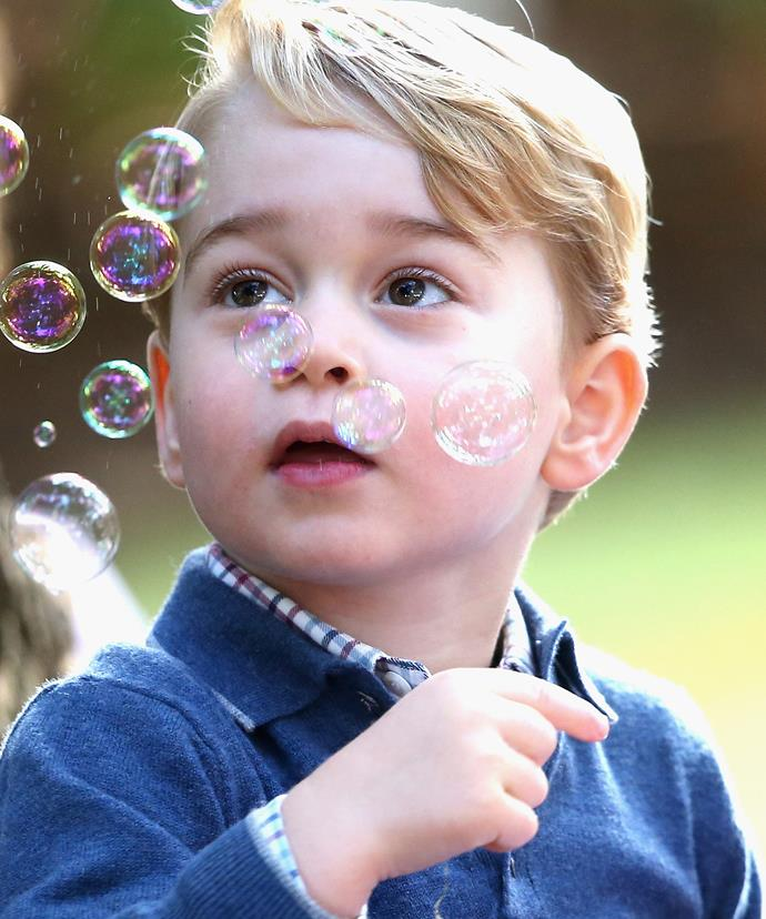 Prince George will no doubt steal the show! He always does!