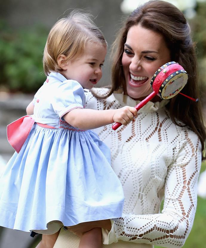 We can't wait to see what the young royal (and her stunning mum) wear on the big day.